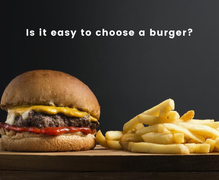 Lựa chọn loại burger yêu thích là yếu tố được tác động từ việc xây dựng Brand Love