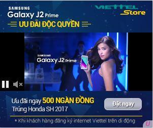 inBanner Video - Samsung J2 (Viettel Store)