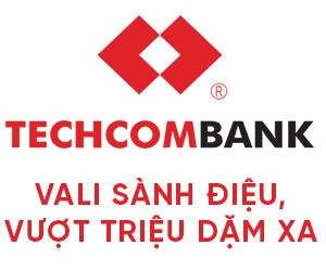 [Banking/Financial] Thẻ Visa Techcombank - Tặng vali sành điệu